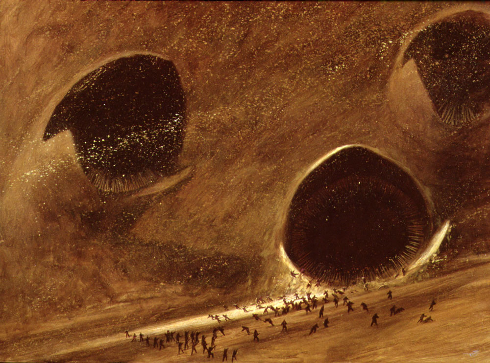 Concept art by John Schoenherr via Omni magazine
