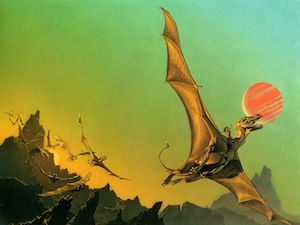 cover image from Dragonslight by Michael Whelan