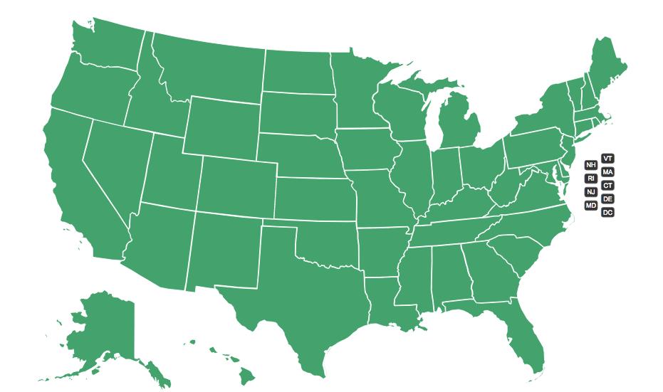 gazetteer map